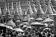 Myanmar. The Shwedagon Pagoda also known in English as the Great Dagon Pagoda. Yangon.