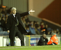 Photo: Aidan Ellis.<br /> Blackburn Rovers v AS Nancy. UEFA Cup. 13/12/2006.<br /> Rovers manager Mark Huhges does not look happy with his team's performance
