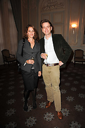 TRACEY EMIN and SCOTT DOUGLAS at a dinner hosted by Vogue in honour of photographer David Bailey at Claridge's, Brook Street, London on 11th May 2010.