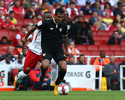 July 29, 2017 - London, United Kingdom - Walter Montoya of Sevilla FC.during Emirates Cup match between RB Leipzig against Sevilla  at Emirates Stadium on 29 July 2017  (Credit Image: © Kieran Galvin/NurPhoto via ZUMA Press)