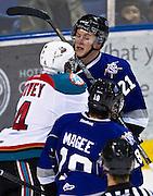 Victoria Royals vs Kelowna Rockets WHL Hockey October 26,2013  -  Kevin Light Photography