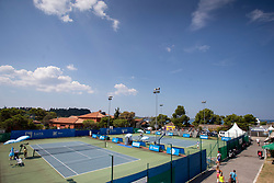 Courts at ATP Challenger Zavarovalnica Sava Slovenia Open 2018, on August 4, 2018 in Sports centre, Portoroz/Portorose, Slovenia. Photo by Urban Urbanc / Sportida