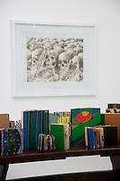 Davide Cantoni, Skulls, Cambodia<br /> Brian Belott, Books books, books