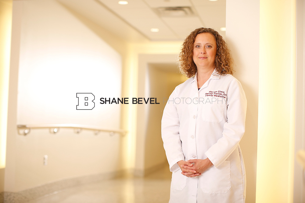 5/28/15 4:23:42 PM -- Dr. Renee Frenier of Saint Francis Health System poses for a portrait for the 2015 Advertising Campaign. <br /> <br /> Photo by Shane Bevel