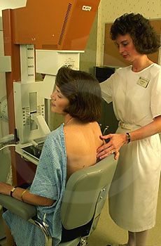 Medical, Technician Performs Mammogram, Breast Cancer Gynecologist, Gynecology