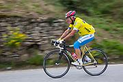 bicycler, Panzano, Tuscany, Italy, Hilltop town, SR222,