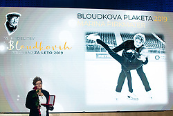 Marina Pirkmajer at 55th Annual Awards of Stanko Bloudek for sports achievements in Slovenia in year 2018 on February 4, 2020 in Brdo Congress Center, Kranj , Slovenia. Photo by Grega Valancic / Sportida