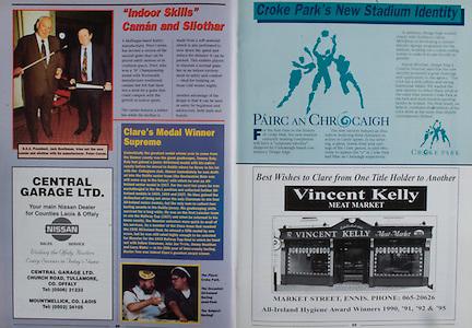 All Ireland Senior Hurling Championship - Final, .03.09.1995, 09.03.1995, 3rd September 1995, .03091995AISHCF, .Senior Clare v Offaly,.Minor Kilkenny v Cork,.Clare 1-13, Offaly 2-8, .VIncent Kelly, Meat Market, Market Street, Ennis,