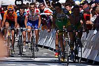 CYCLING - TOUR DE FRANCE 2004 - STAGE 12 - CASTELSARRASIN > LA MONGIE - 16/07/2004 - PHOTO: FRANCK FAUGERE / DIGITALSPORT      <br /> RICHARD VIRENQUE (FRA) / QUICK STEP-DAVITAMON