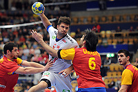 HANDBALL - 22ND MEN'S WORLD CHAMPIONSHIP SWEDEN 2011 - JONKOPING (SWE) - SPAIN (32) vs NORWAY (27) - 22/01/2011 - KRISTIAN KJELLING (NOR) - PHOTO : FRANCK FAUGERE / DPPI