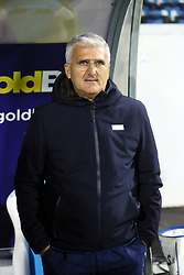 """Foto LaPresse/Filippo Rubin<br /> 28/11/2017 Ferrara (Italia)<br /> Sport Calcio<br /> Spal - Cittadella - Coppa Italia 2017/2018 - Stadio """"Paolo Mazza""""<br /> Nella foto: ROBERTO VENTURATO<br /> Photo LaPresse/Filippo Rubin<br /> November 28, 2017 Ferrara (Italy)<br /> Sport Soccer<br /> Spal - Cittadella - Italy's Cup 2017/2018 - """"Paolo Mazza"""" Stadium <br /> In the pic: ROBERTO VENTURATO"""