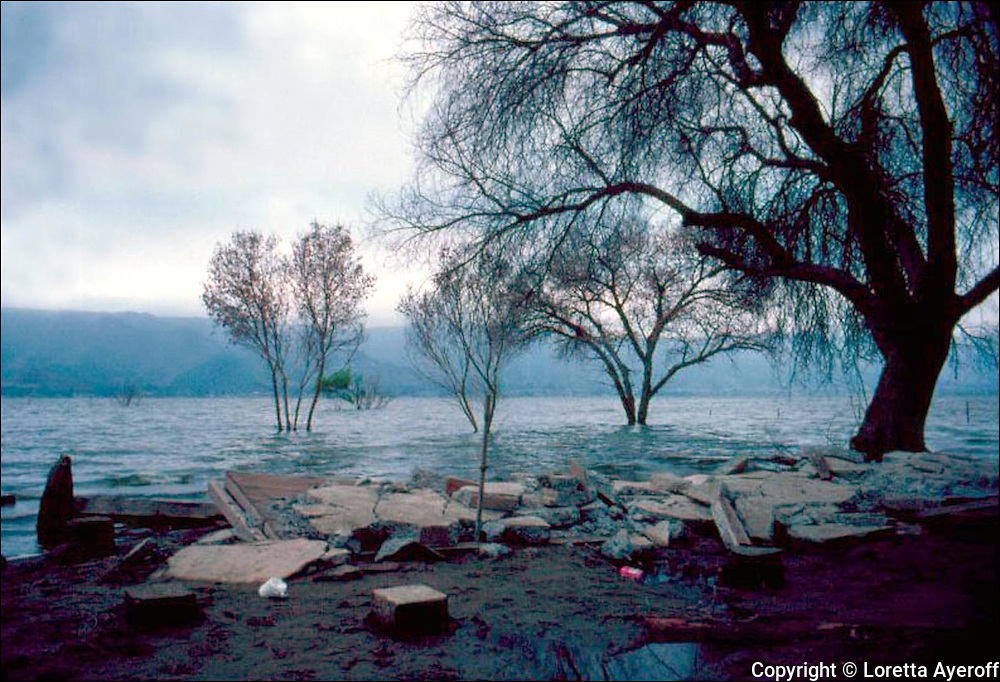 Lake Elsinore, CA: A large portfolio of CA Ruins was published in California Magazine, 1982. This is the director's cut.