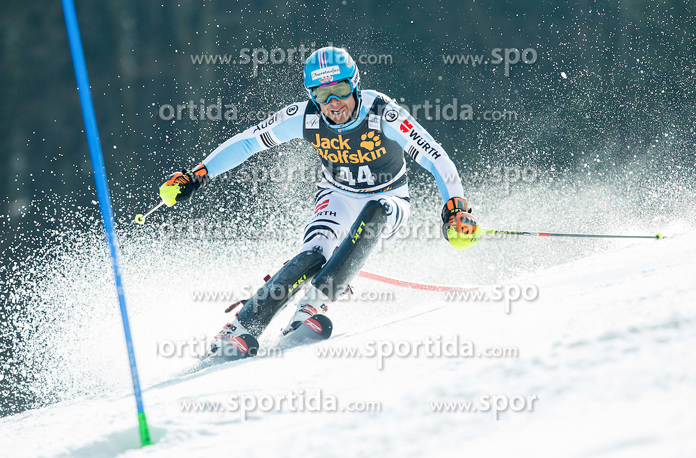 SCHMID Philipp of Germany competes during 1st Run of Men Slalom race of FIS Alpine Ski World Cup 54th Vitranc Cup 2015, on March 15, 2015 in Kranjska Gora, Slovenia. Photo by Vid Ponikvar / Sportida