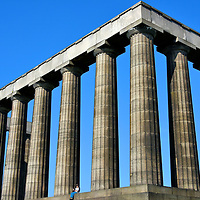 National Monument in Edinburgh, Scotland<br />