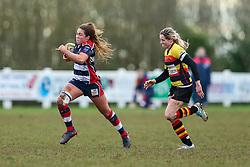 Sydney Gregson of Bristol Ladies - Rogan Thomson/JMP - 15/01/2017 - RUGBY UNION - Cleve RFC - Bristol, England - Bristol Ladies Rugby v Richmond WRFC - RFU Women's Premiership.