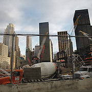 Ground zero under construction
