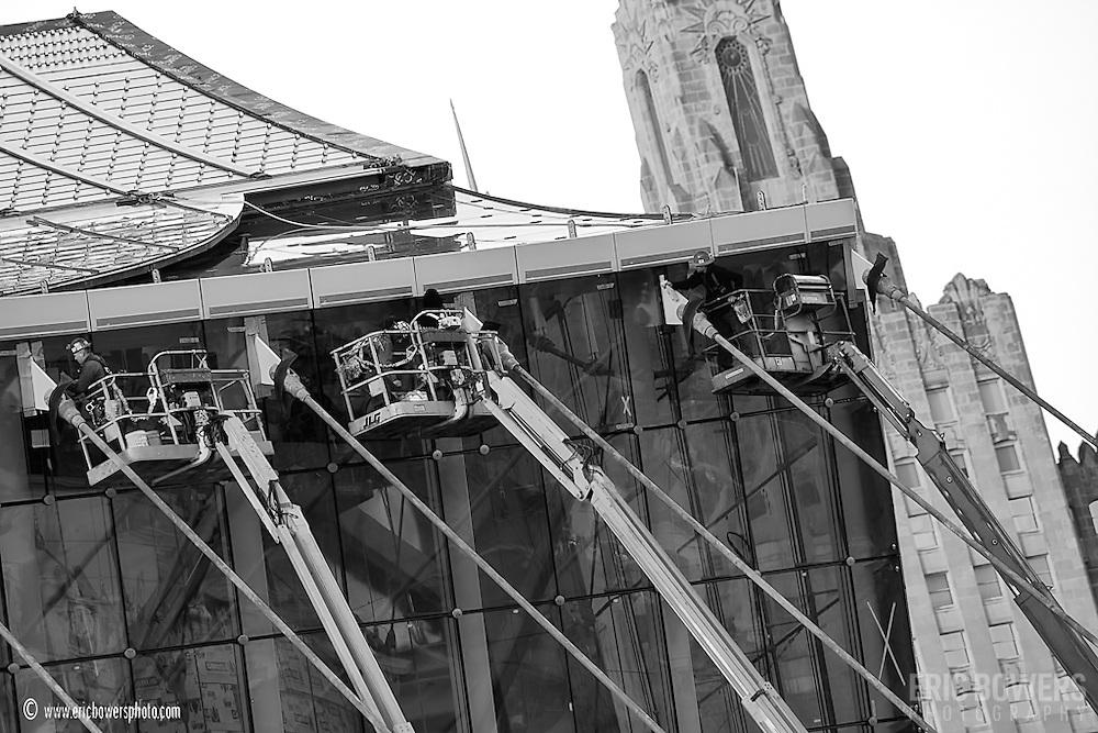 Kauffman Center Construction, November 29, 2010.