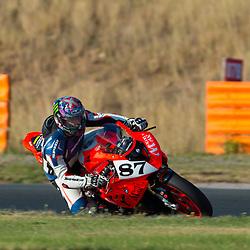 prueba celebrada en el circuito de Navarra dentro del calendario del Campeonato Inter provincial de Motociclismo