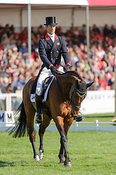 William Fox-Pitt and PARKLANE HAWK lie in fifth place as they chase the Rolex Grand Slam and $350,000 after the Dressage phase of the Mitsubishi Motors Badminton Horse Trials, Saturday May 4th 2013. Photo by:  Nico Morgan / i-Images