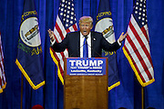 March 1, 2016 - Louisville, Kentucky, U.S. - <br /> <br /> Presidential candidate DONALD TRUMP  speaks to a couple thousand supporters. <br /> ©Exclusivepix Media