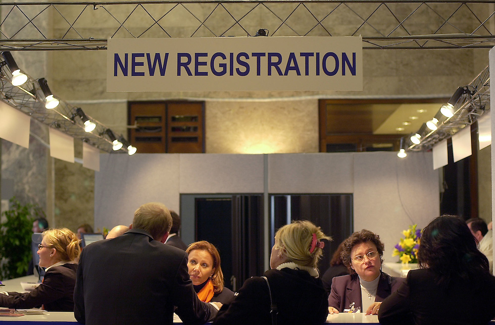 14 OCT 2004 - Lido di Venezia - 4th World Congress of Osseointegration - Stand Key Congress.