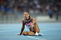 ATHLETICS - IAAF WORLD CHAMPIONSHIPS 2011 - DAEGU (KOR) - DAY 3 - 29/08/2011 - WOMEN 400M FINAL - ALLYSON FELIX (USA) / 2ND - PHOTO : FRANCK FAUGERE / KMSP / DPPI
