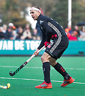 BLOEMENDAAL -  Justin Reid-Ross (A'dam)  . Hockey hoofdklasse heren, Bloemendaal-Amsterdam (2-0) . COPYRIGHT KOEN SUYK