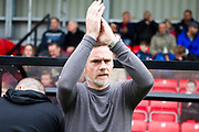 Graham Alexander before the match the EFL Sky Bet League 2 match between Salford City and Cambridge United at Moor Lane, Salford, United Kingdom on 12 October 2019.