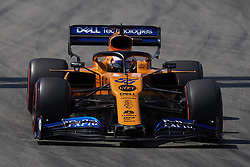 May 11, 2019 - Barcelona, Catalonia, Spain - Carlos Sainz of Spain driving the (55) McLaren F1 Team MCL34 during qualifying for the F1 Grand Prix of Spain at Circuit de Barcelona-Catalunya on May 11, 2019 in Barcelona, Spain. (Credit Image: © Jose Breton/NurPhoto via ZUMA Press)