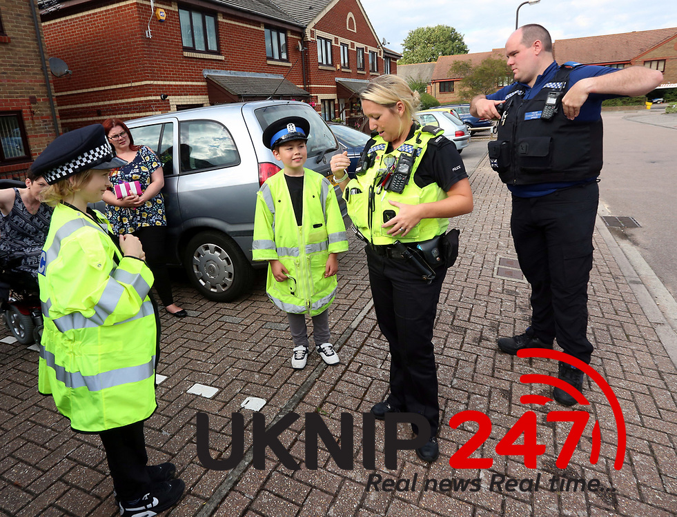 Licensed To UK News In PicturesPortsmouthHampshire Thursday 13th July 2017 Police