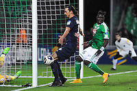 Goal Zlatan IBRAHIMOVIC - 13.01.2015 - Saint Etienne / Paris Saint Germain - 1/4Finale Coupe de la Ligue<br />
