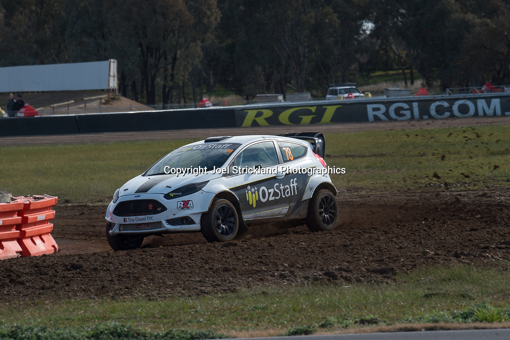 Troy Dowel - Ford fiesta - Rallycross Australia - Winton Raceway - 16th July 2017