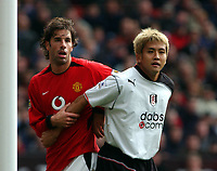 MANCHESTER UNITED V FULHAM  PREMIER LEAGUE 25/10/03<br />