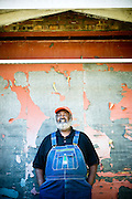 Pitmaster Ed Mitchell  at The Pit in Raleigh, NC.