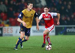 Milan Djuric of Bristol City - Mandatory by-line: Matt McNulty/JMP - 17/01/2017 - FOOTBALL - Highbury Stadium - Fleetwood,  - Fleetwood Town v Bristol City - Emirates FA Cup Third Round Replay