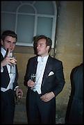ROBERTO WEEDEN-BANZ, BOUDEWIIJN WIJNANDS, Oxford University Polo club Ball, Blenheim Palace. Woodstock. 6 March 2015