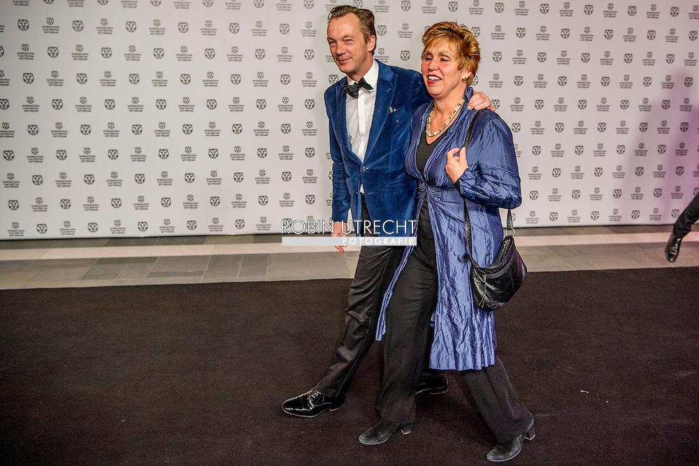 ROTTERDAM - filmfestival opening rode loper en opening van de film lemon  WIM PIJBES  Cox ROBIN UTRECHT