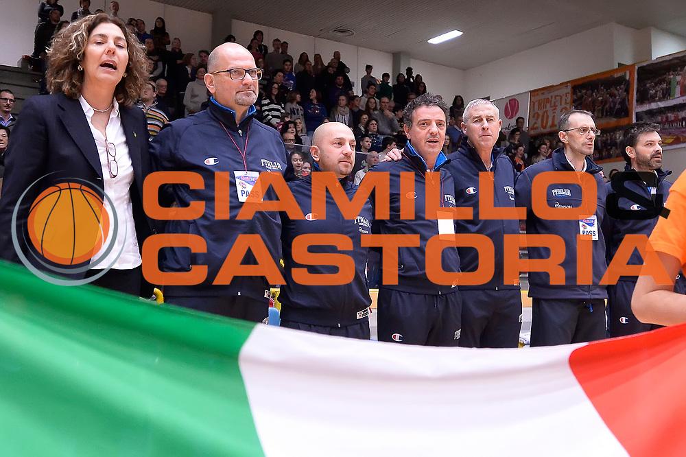 DESCRIZIONE : Schio Torneo Famila cup Italia Russia Italy Russia<br /> GIOCATORE : team italia staff tecnico<br /> CATEGORIA : pregame<br /> EVENTO : Schio Torneo Famila cup Italia Russia Italy Russia<br /> GARA : Italia Russia Italy Russia<br /> DATA : 28/12/2014<br /> SPORT : Pallacanestro<br /> AUTORE : Agenzia Ciamillo-Castoria/R.Morgano<br /> Galleria: Fip Nazionali 2014<br /> Fotonotizia: Schio Torneo Famila cup Italia Russia Italy Russia<br /> Predefinita :