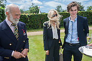 PRINCE MICHAEL OF KENT; CLARISSA NADLER; HAYDEN NADLER, The Cartier Style et Luxe during the Goodwood Festivlal of Speed. Goodwood House. 1 July 2012.