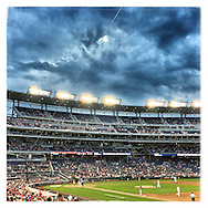 An Instagram of Nationals Park in Washington D.C.