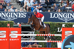 Hough Lauren, (USA), Ohlala <br /> First Round<br /> Furusiyya FEI Nations Cup Jumping Final - Barcelona 2015<br /> © Dirk Caremans<br /> 24/09/15