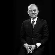 Portrait of Fashion & Shoe Designer Datuk' Prof. Jimmy Choo (OBE)