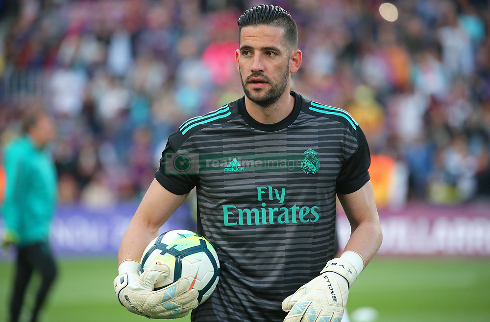 May 6, 2018 - Barcelona, Catalonia, Spain - Kiko Casilla during the match between FC Barcelona and Real Madrid CF, played at the Camp Nou Stadium on 06th May 2018 in Barcelona, Spain.  Photo: Joan Valls/Urbanandsport /NurPhoto. (Credit Image: © Joan Valls/NurPhoto via ZUMA Press)
