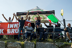 Supporters of Italy  during the Women's Elite Road Race a 156.2km race from Kufstein to Innsbruck 582m at the 91st UCI Road World Championships 2018 / RR / RWC / on September 29, 2018 in Innsbruck, Austria. Photo by Vid Ponikvar / Sportida