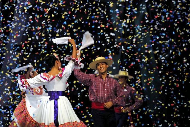 Chilean tipical dance called Cueca