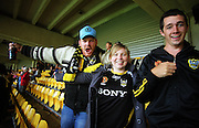 Phoenix fans.<br /> A-League football - Wellington Phoenix v North Queensland Fury at Westpac Stadium, Wellington. Friday, 15 January 2010. Photo: Dave Lintott/PHOTOSPORT