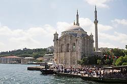 Büyük Mecidiye Camii in Ortakoy, Istanbul, Turkey