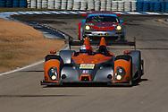 #005 Core Autosport Oreca FLM09: Jon Bennett, Frankie Montecalvo, Ryan Dalziel
