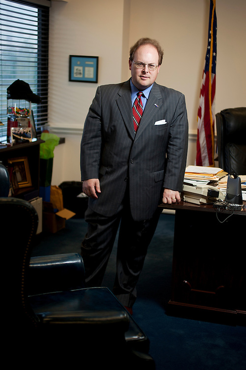 North Carolina Insurance Commissioner Wayne Goodwin at his office in the Dobbs Building, Raleigh, N.C., Monday, September 20, 2010. Goodwin supports publicly financed elections...