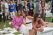 TOLULA AYEDEMI; NATALIE EVERARD; AKIKO TAKASHIMA, The Veuve Clicquot Gold Cup Final.<br /> Cowdray Park Polo Club, Midhurst, , West Sussex. 15 July 2012.